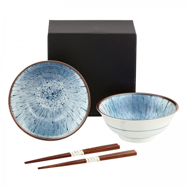HANABI Suppenschüssel Japan suppenschalen Set