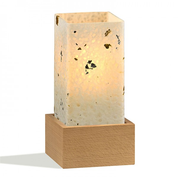 Tischlampe Kinpaku EKS Buche Natur
