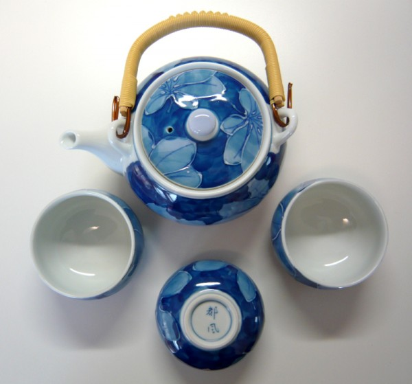 Japan Teeservice KOIBASAI 4er Teeset