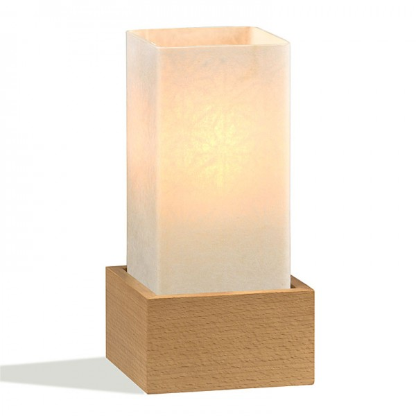 Tischlampe Asanoha EKS Buche Natur