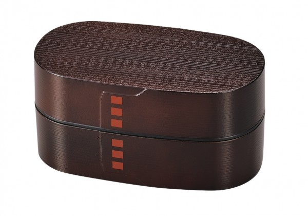NURI WAPPA bentobox lunchbox brotdose brown