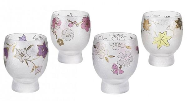 Sake-Glas SHIKI Geschenkset Japan Geschenk