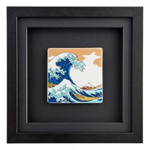 OONAMI große Welle vor Kanagawa Schwarz