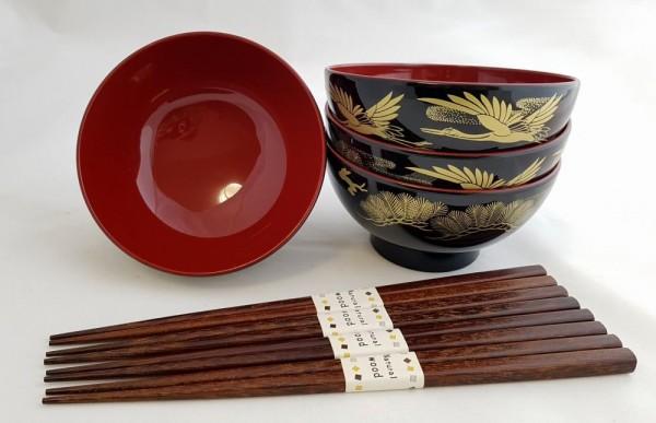 Miso Suppenschale Japan TSURU