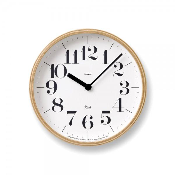 Wanduhr Riki Clock LEMNOS klein