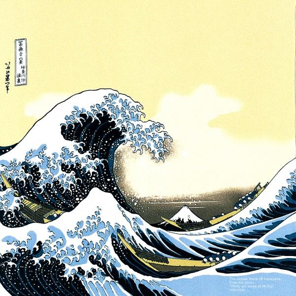 Furoshiki OONAMI große Welle Japan