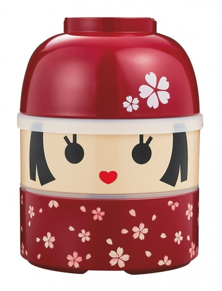 Kokeshi Bentobox HANAKO groß Japan Brotdose