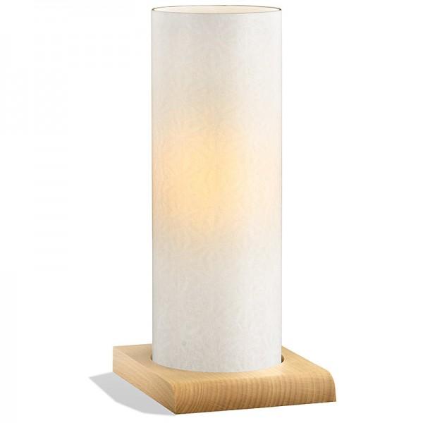 Japan Tischlampe Asanoha RDS Buche Natur