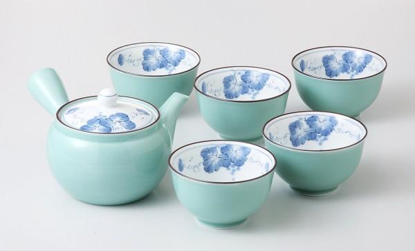 Japanisches Teeservice ARITA Grün Set