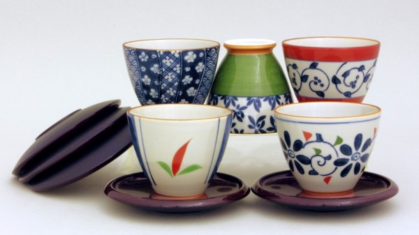 Teeschalen Set GOSHU untertassen Japan