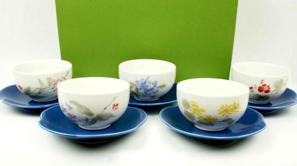 Teeschalen-Set HANASHIRABE