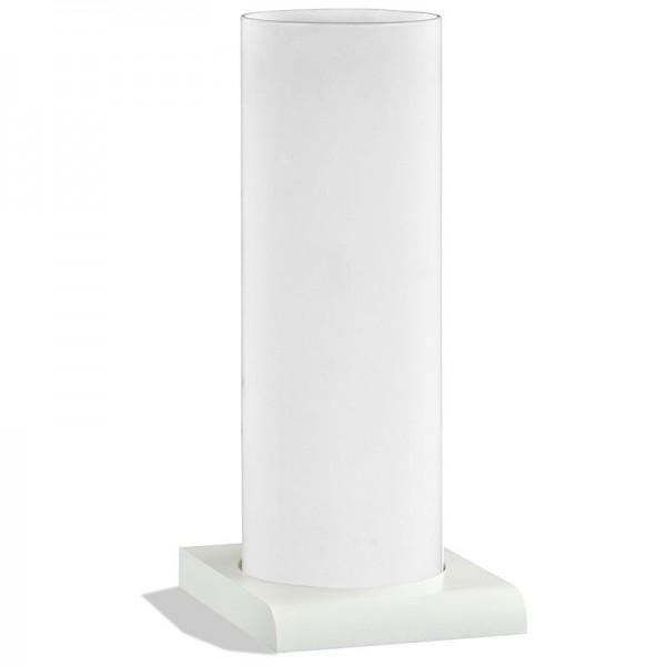 Handmade Glas Lampe YUKI RDS Weiß