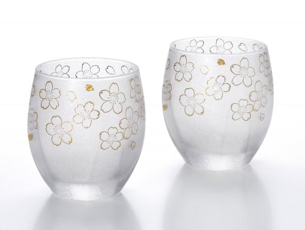 Japan Trinkglas-Set SAKURA Geschenk