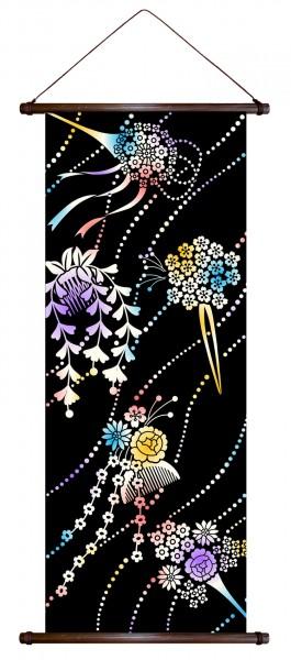 Rollbild Wandbehang KANZASHI Maiko